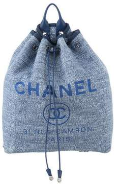 Chanel 2017 Deauville Backpack