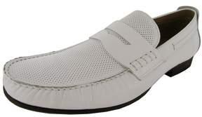 Steve Madden Mens Wonder1 Leather Slip On Penny Loafer