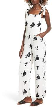 Dee Elly Embroidered Floral Jumpsuit