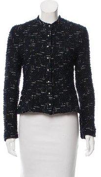 Chanel Metallic-Accented Bouclé Jacket