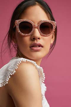 Sonix Marble Cat-Eye Sunglasses