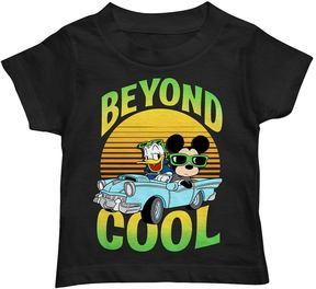 Disney Disney's Mickey Mouse & Donald Duck Toddler Boy Car Beyond Cool Graphic Tee