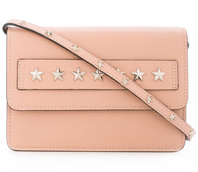 Red Valentino star studded clutch