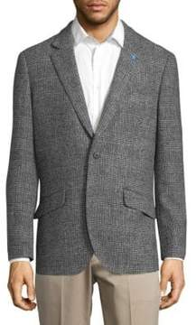 Tailorbyrd Plaid Suit Jacket