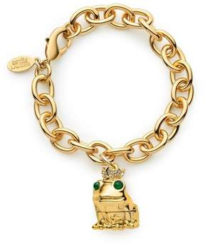 Estee Lauder Limited Edition Pure Color Crystal Lipstick Loving Frog Charm Bracelet