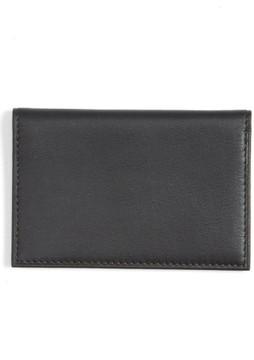 Bosca Men's Calling Card Case - Black
