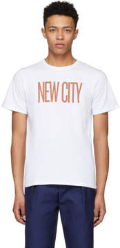 Saturdays NYC White New City T-Shirt