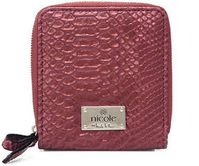 Nicole Miller Nicole By Laurel Zip Around Wallet