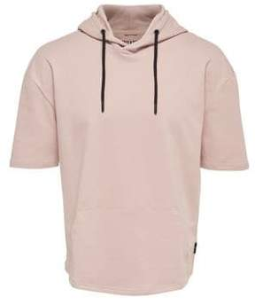 ONLY & SONS Rory Short-Sleeve Cotton Hoodie