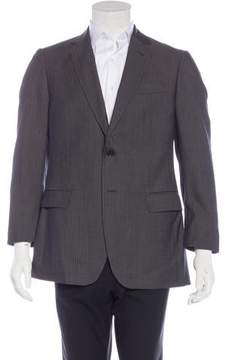 Moschino Virgin Wool Herringbone Blazer