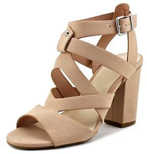 Bar III Womens Mae Peep Toe Casual Strappy Sandals.