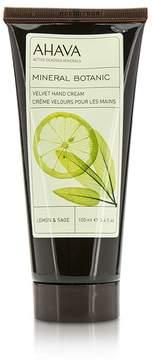 Ahava Mineral Botanic Velvet Hand Cream - Lemon & Sage
