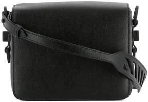 Off-White Black Leather Shoulder Bag
