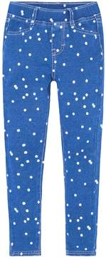 Levi's Girls 4-6x Haley May French Terry Polka Dot Knit Leggings