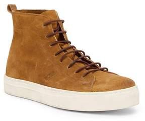 HUGO BOSS Noir Hi Top Sneaker