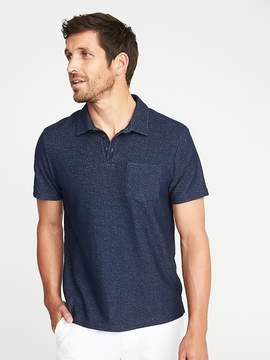 Old Navy Loop-Terry Pocket Polo for Men