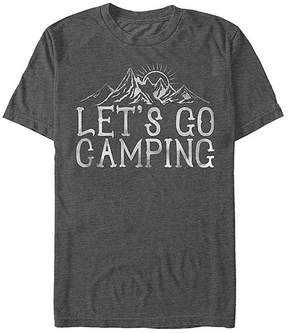 Fifth Sun Charcoal Heather 'Let's Go Camping' Tee - Men