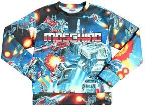 Moschino Transformers Printed Sweatshirt