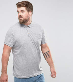 Brave Soul PLUS Short Sleeve Polo with Pocket
