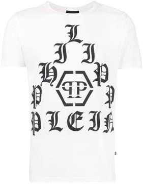 Philipp Plein pyramid logo T-shirt