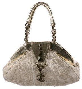 Just Cavalli Brocade Shoulder Bag