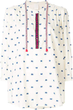 Pinko embroidered tunic top