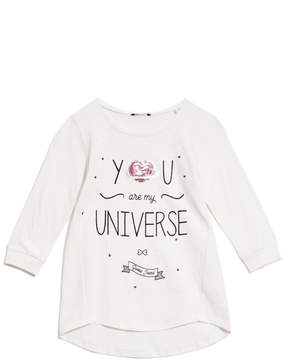 GUESS Sequin Graphic Tee (7-16)