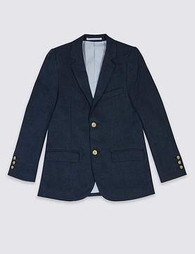 Marks and Spencer Linen Blend Blazer (3-14 Years)