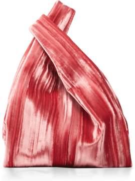 Hayward Rolled Velvet Mini Shopper Bag