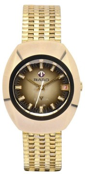 Rado Balboa Gold Plated Automatic Vintage 35mm Mens Watch