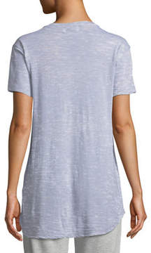 Allen Allen Love Short-Sleeve Distressed Tee