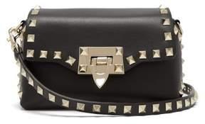 Valentino Rockstud Mini Cross Body Bag - Womens - Black
