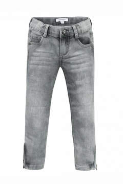 3 Pommes Grey Washed Pants