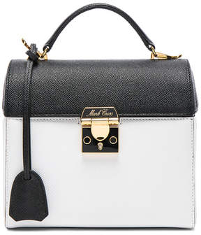 Mark Cross Saffiano Colorblock Sara Bag