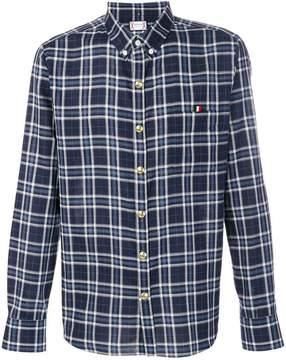 Moncler Gamme Bleu checked shirt