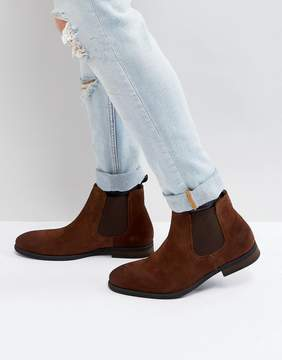 Call it SPRING Andler Suede Chelsea Boots in Tan