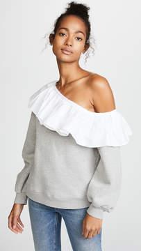 Clu One Shoulder Sweatshirt