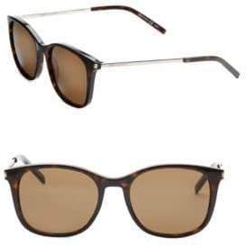 Saint Laurent 53MM Square Sunglasses