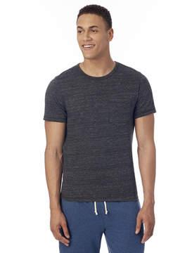 Alternative Apparel Eco-Jersey Pocket Crew T-Shirt