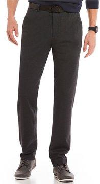 Murano Alex Modern Slim Fit Flat-Front Knit Pants