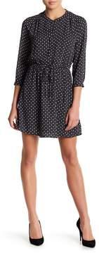 Daniel Rainn DR2 by Dot Print Shirt Dress (Petite)