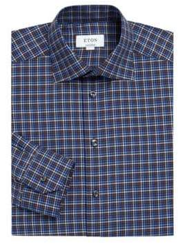 Eton Contemporary-Fit Graphic Print Dress Shirt