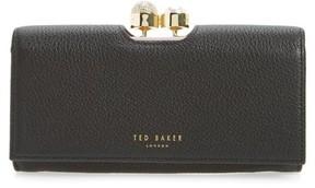 Ted Baker Women's Marta Bobble Matinee Leather Wallet - Black