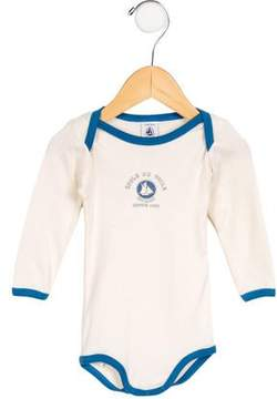 Petit Bateau Boys' Long Sleeve All-In-One