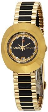 Rado Original Black Simili Stone Dial Ladies Watch
