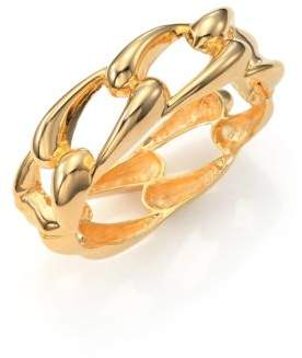 Kenneth Jay Lane Link Bangle Bracelet