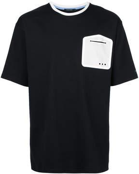 GUILD PRIME contrast print T-shirt