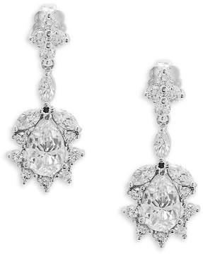 Adriana Orsini Women's Faceted Teardrop Crystal Earrings