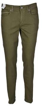 Re-Hash Men's Green Cotton Jeans.