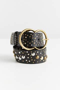 Urban Outfitters Studded Double O-Ring Belt